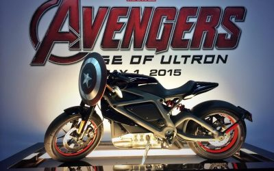 MARVEL és a Harley Davidson elekromos motorja