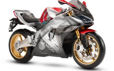 KYMCO bemutatta az új elektromos superbikeját
