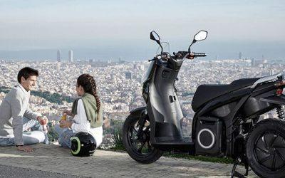Város szennyezés és zaj helyett elektromos robogó