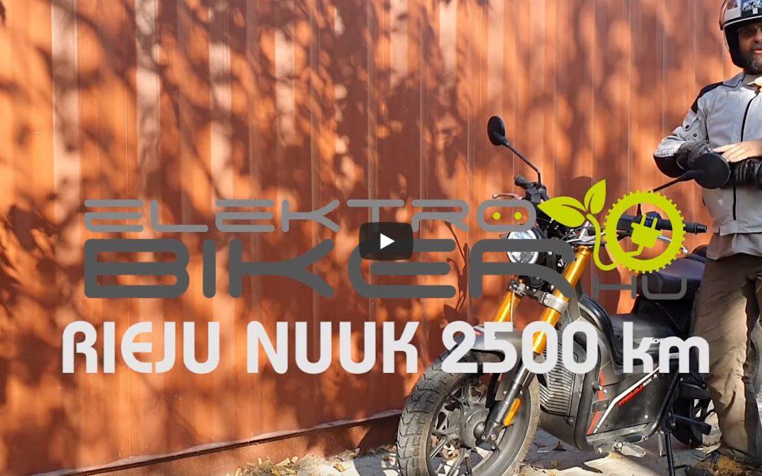 Rieju Nuuk túl az első 2500 km-en